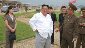 Kimův luxusní plážový resort je skoro hotový. Stojí  poblíž raketové střelnice