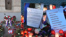 Kytice Zemana a Babiše Palachovi terčem aktivistů. Ovčáček zuří: Fašistická spodina