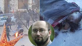 Proč se muž na Václaváku zapálil jako Palach? Psycholog: Chtěl vejít ve známost