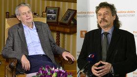 Zeman ukázal na muže, kvůli kterému by volil ČSSD. A věří v dohodu o brexitu