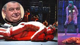 Kardinál Duka bez pardonu: Za znásilňujícího Ježíše se divadlo omlouvat nebude