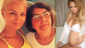Těhotná modelka Fajksová truchlí: Opustila ji její velká opora!