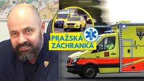 """Šéf pražské záchranky Kolouch pro Blesk: """"Navzdory technologiím je hlavní úcta a pokora,"""" říká"""
