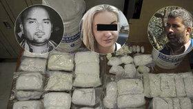 Boss, šofér, pašeračka, vařič: Kdo je kdo v Terezině drogovém gangu