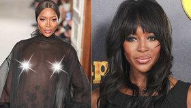 Odvážná Naomi Campbellová (48) zpět na mole: Ukázala prsa v celé kráse!
