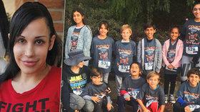 Vyčerpaná oktomáma, která vychovává 14 dětí: Nezvládá péči o syna-autistu!