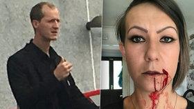 Dvojnásobnou matku zbil soused přímo před dětmi. Mlátil ji, i když byla v bezvědomí