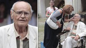 Režisér Popelky Vorlíček (88) bojuje s neléčitelnou nemocí: Oslepl jsem na jedno oko!