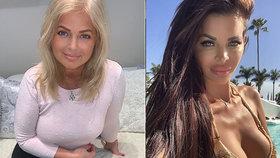 Kačeří zobák Kucherenko si naběhla: Chlubila se maminkou, která vypadá líp než ona!