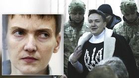 """Savčenková je po roce na svobodě. """"Neuteču do ciziny,"""" slibuje ukrajinská hrdinka"""