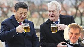 Zemana hájí jeho muž: Cesty do Číny mají smysl, prezidenti se mají rádi