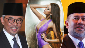 Krach vztahu sexbomby a sultána je pomluva, čílí se přítelkyně. Kdo je nový král?