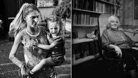 Mladý fotograf z Plzně se zaměřil na ženy všech generací: Podobnost není náhodná, říká