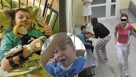 Adámek po banální operaci mandlí skončil v kómatu: Rodina konečně dostane od nemocnice odškodné!