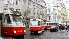 Kvůli havárii vody mezi I. P. Pavlova a Otakarovou nejezdí tramvaje: Výluka potrvá do pondělí