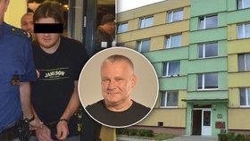 Soud s Kajínkovým synovcem, který pobodal dva lidi: Dětem přejížděl nožem přes hrdla!