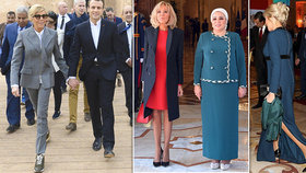 Macronová (65) se polepšila! Na setkání s egyptským prezidentem přišla v minišatech a na jehlách