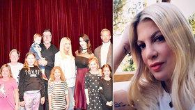 """Donna z Beverly Hills terčem urážek za """"tlusté, umaštěné a zmuchlané děti"""""""