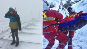"""Češi razí na Sněžku v trenkách, pak prosí o pomoc. """"Totální hovadina,"""" žasne šéf Horské služby"""