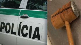 Mirek (27) přepadl banku s paličkou na maso: Rukojmí držel dvě hodiny!