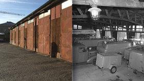 Uvnitř holešovické hasičárny: Vznikla za války, sloužit měla 5 let. Teď půjde k zemi