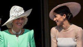Camilla s Meghan si jsou blíž, než se říká! Detail na fotkách je prozradil