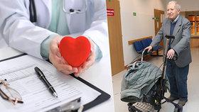 Rudolf (82): 35 let žiju s darovaným srdcem. Lékaři IKEM slaví český i světový rekord