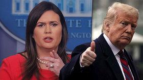 """Mluvčí se rozplývala nad Trumpem: """"Bůh chtěl, aby se stal prezidentem"""""""