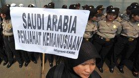 Poprava služebné v Saúdské Arábii za vraždu: Ženě (†39) zamítli zaplatit krvavé peníze