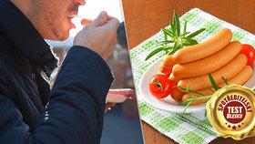 Testované vídeňské párky: Výrobce přimíchal ingredienci, která v nich nemá co dělat!