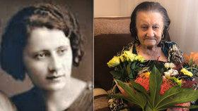 Zemřela nejstarší Češka Marie Schwarzová, bylo jí 109 let. Pomoci od státu se nedočkala