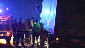 Večerní tragédie u Vyšehořovic: Náklaďák tu srazil muže, na místě zemřel