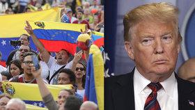 Trump přitvrdil: Do Venezuely můžeme poslat armádu, pohrozil Madurovi