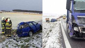 Dozorce zemřel po srážce s kamionem: Pavlína zůstala na tři děti sama