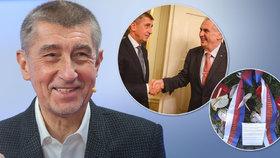 Babiš nechce být prezidentem, vstupu do politiky lituje. Zeman rád provokuje, tvrdí premiér