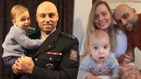 Krutý úděl policisty Tomáše: Zůstal sám se synem (1,5), ženu zabila rakovina
