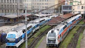 Železniční komplikace: Porucha trakčního vedení ovlivní řadu pražských příměstských linek