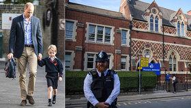 Princ George v ohrožení?! U jeho školy ubodali chlapce (†19)