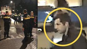 Přestřelka v centru Amsterdamu: Policie zastřelila muže před zraky kolemjdoucích