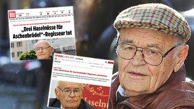 Václava Vorlíčka (†88) oplakávají Němci i Norové, kterým dal kdysi košem