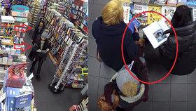 Mazané kapsářky řádily v Karlíně: Obětem kradly peníze i doklady, hledá je policie
