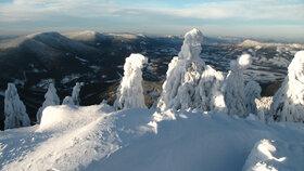 Beskydy: Na běžky na Lysou horu, na sjezdovky do Malenovic