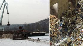 Revoluce ve svozu odpadu v Praze: Mají ho svážet lodě jako v Amsterdamu nebo Paříži