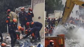 Zřícení domu v Istanbulu: Na svědomí má už 21 obětí