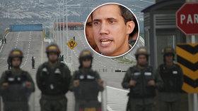 """""""Kati, co páchají genocidu."""" Lídr Venezuely peskoval vojáky za blokádu pomoci"""