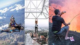 Dobrodruzi nebo sebevrazi: Závisláci na adrenalinu riskují život v neuvěřitelných situacích