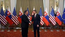Trumpův muž pochválil Slováky za NATO a pustil se do Ruska: Podkopává ve světě svobodu