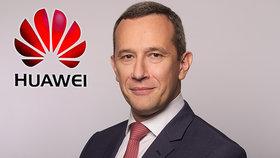 """""""Číně informace nedáváme."""" Šéf Huawei odmítl pro Blesk obavy českých úřadů"""