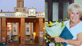 """Eva Kubelková (81) pracuje 64 let v Thomayerově nemocnici: """"Museli jsme léčit, kdyby byl u moci pánbůh, nebo čert"""""""