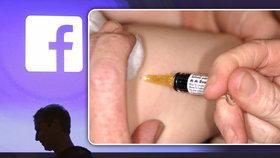 Pediatři útočí na Facebook: Zakažte skupiny odpůrců očkování, zdraví dětí je přednější